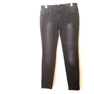 MNG Black SZ 8 Slim Push Up Skinny Jean